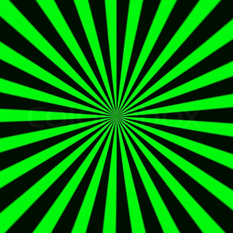 green sunburst background - photo #19