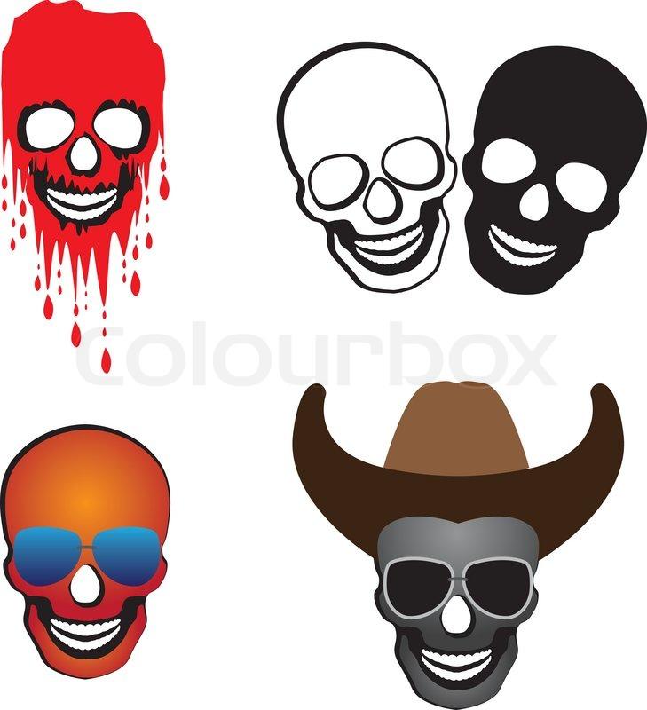 Cowboy Glasses Blood