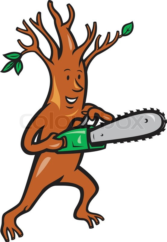 Illustration Of Tree Man Arborist Tree Stock Vector Colourbox Stick man, an animated twig, lives with his stick lady love and their children in the family tree. illustration of tree man arborist tree