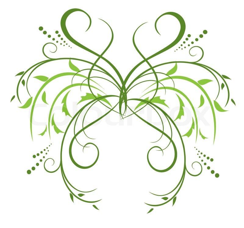 Floral Decorative Designs Floral Decorative Element For