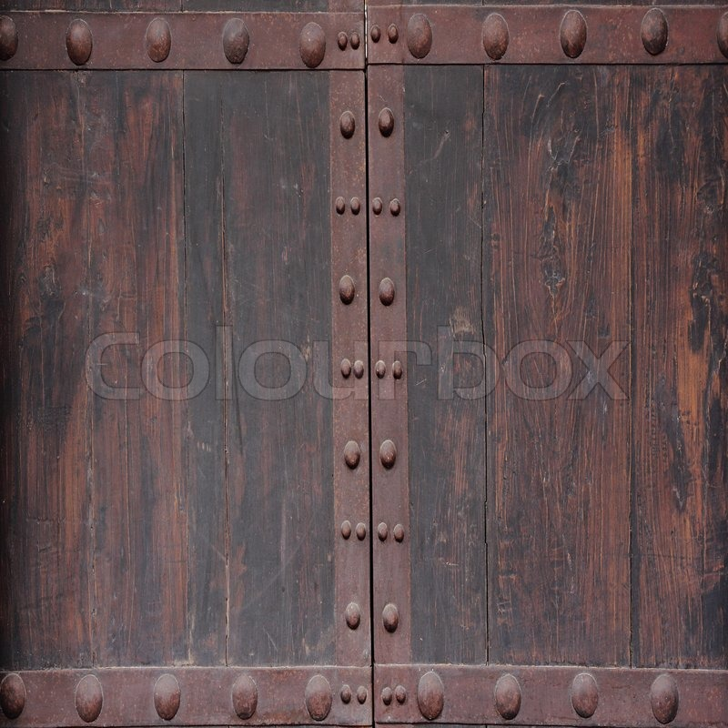 Vintage Wooden Door Texture
