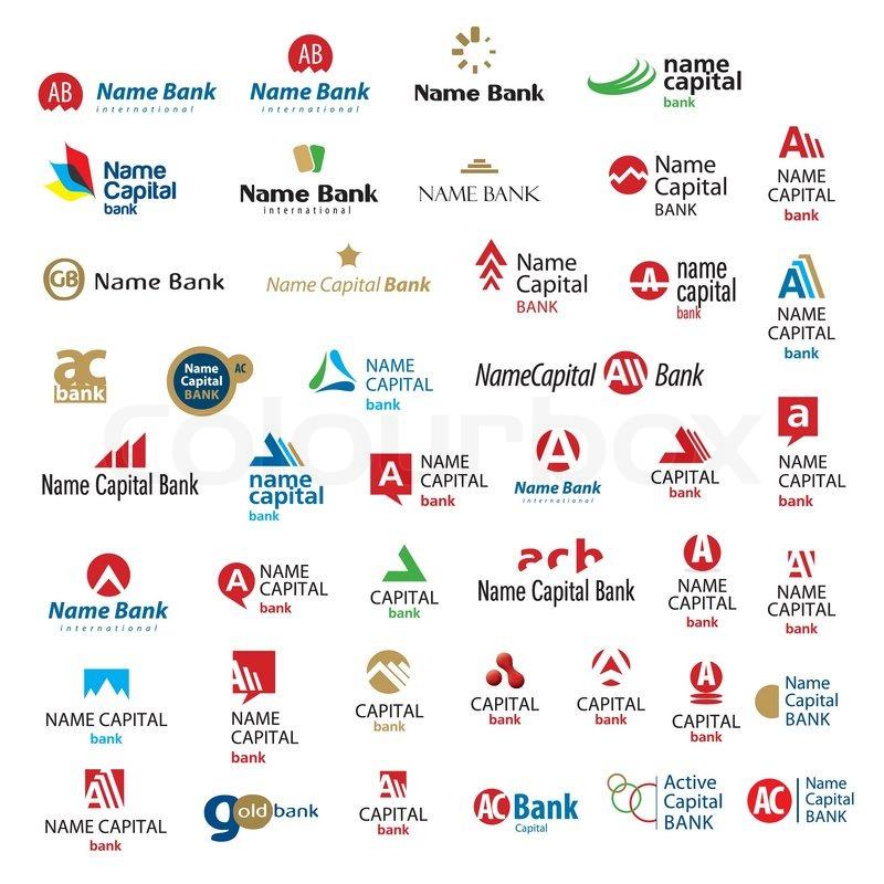 An Exclusive Selection Of Brands Logos Stock Vector