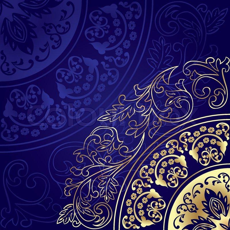 Vintage floral background | Vektorgrafik | Colourbox