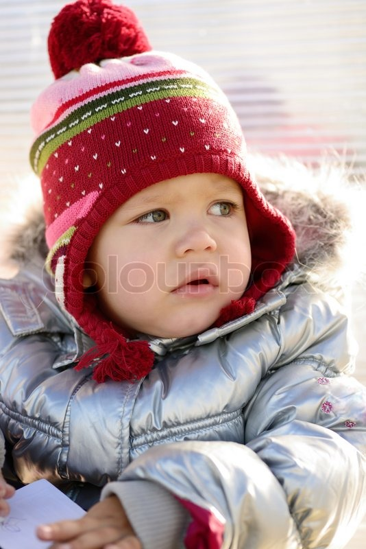 Stock image of 'Winter portrait'