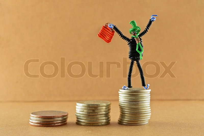 Stock image of 'Successful businessman'