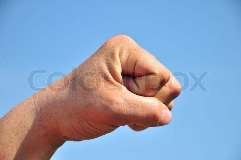 Stock image of 'Fist'