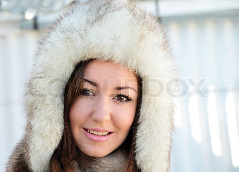 Stock image of 'In furs'