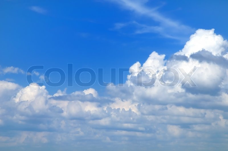 Stock image of 'Clouds'
