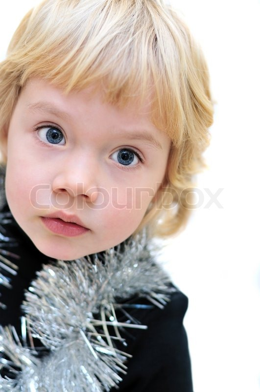 Stock image of 'Portrait of adorable little girl'