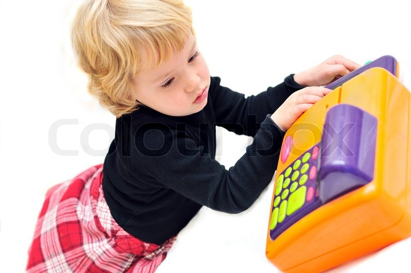 Stock image of 'Littlecashier'