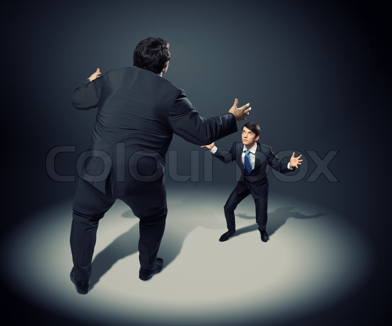 Stock image of 'Business dispute'