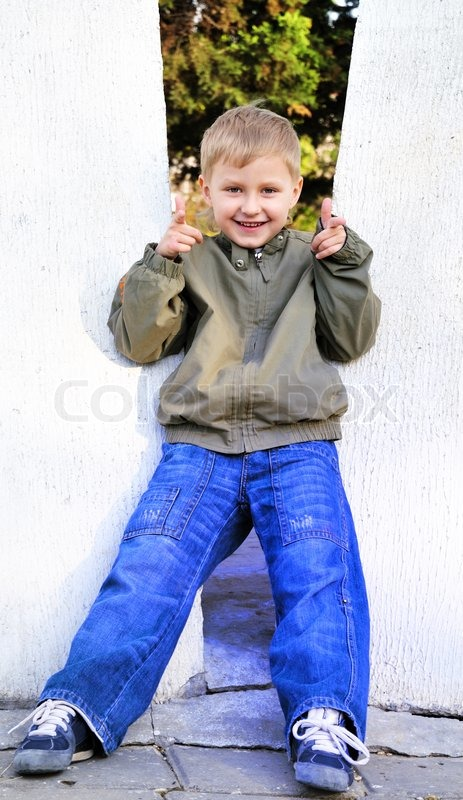 Stock image of 'Cute boy'