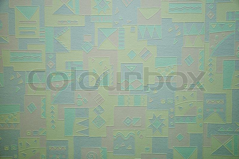 Stock image of 'Colorful wallpaper'