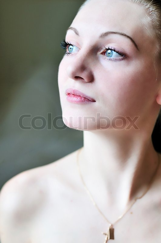 Stock image of 'Clean young face'