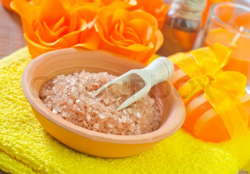 Stock image of 'Objects for spa'