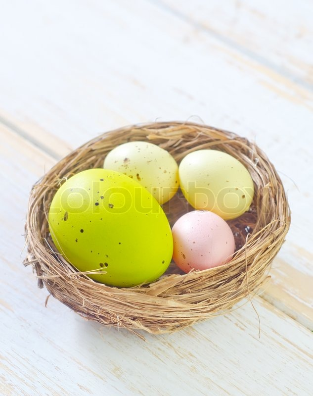 Stock image of 'Color eggs'