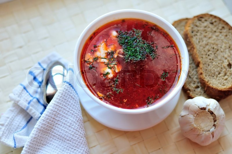 Stock image of 'Borscht'