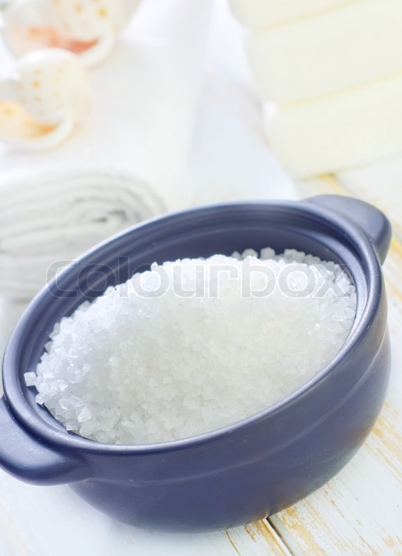 Stock image of 'Sea salt'