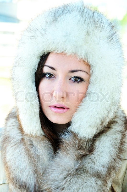 Stock image of 'Swathed in furs'