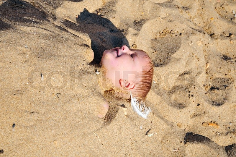 Stock image of 'In the sand'