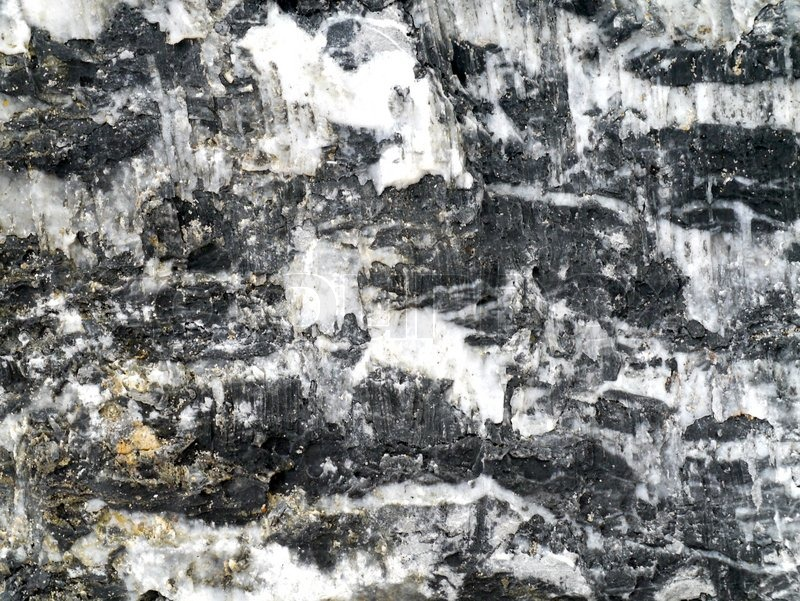 Stock image of 'Cut surface of the granite rock'