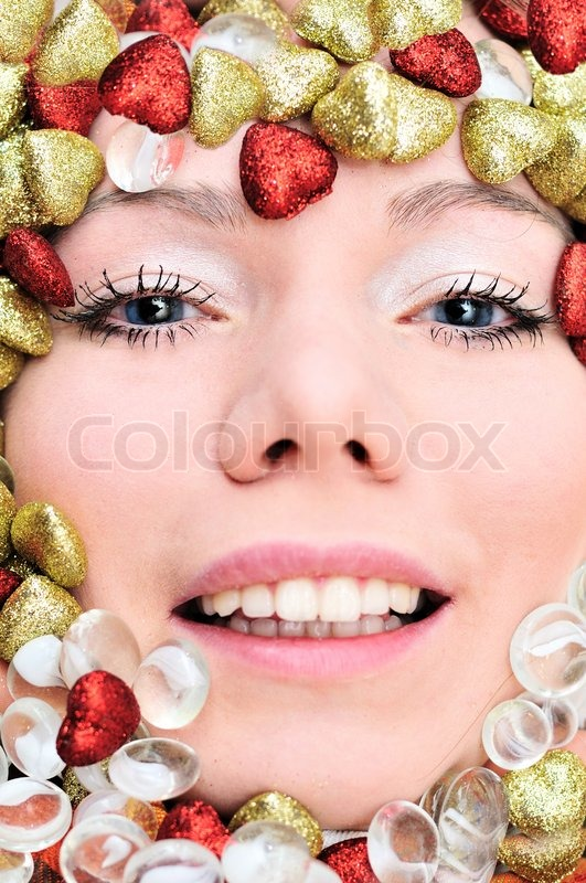 Stock image of 'Face of girl'
