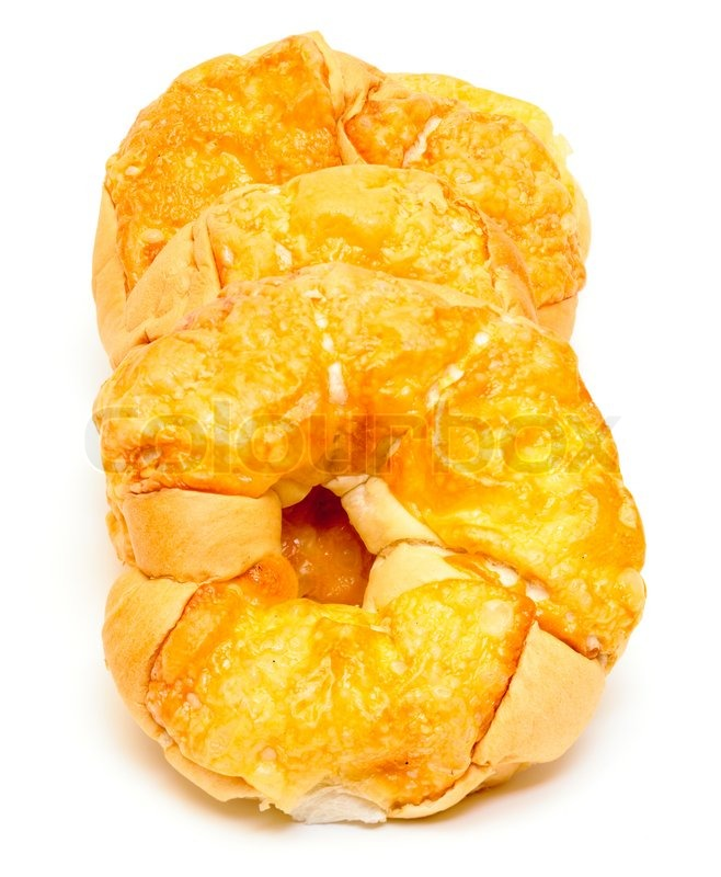Stock image of 'Golden Cheese Buns'