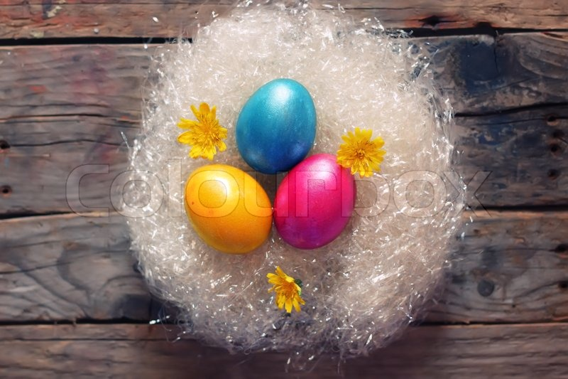 Stock image of 'Easter eggs'