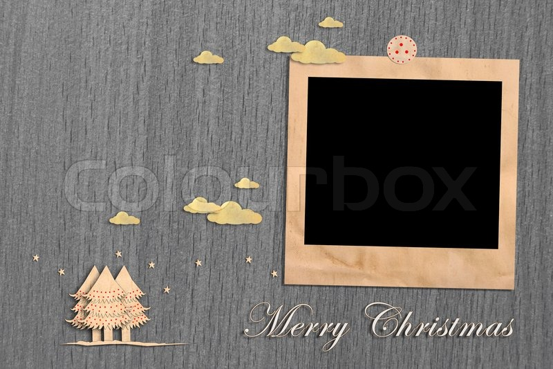 Stock image of 'Christmas tree for image and text'