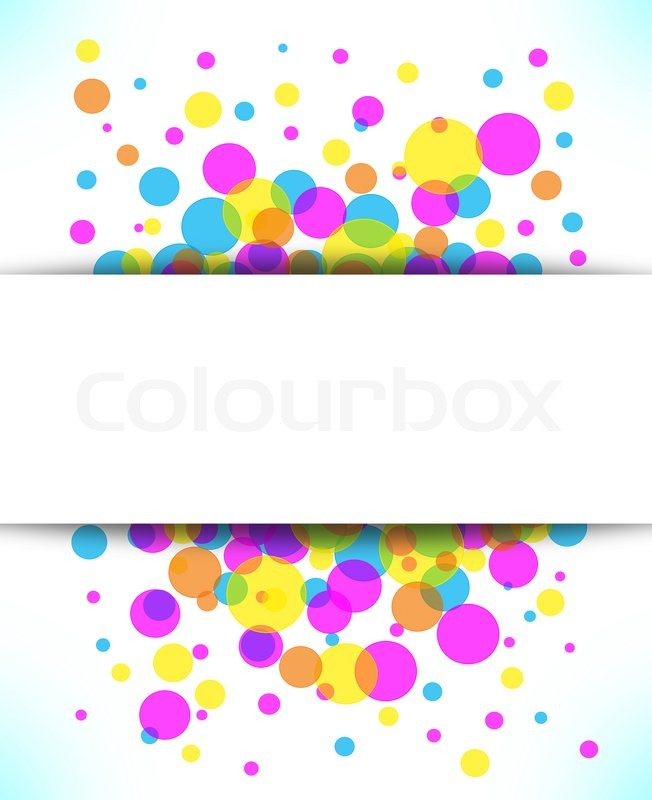 Stock image of 'Colorful abstract background with space for text'