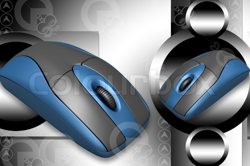 Stock image of 'Computer Mouse'