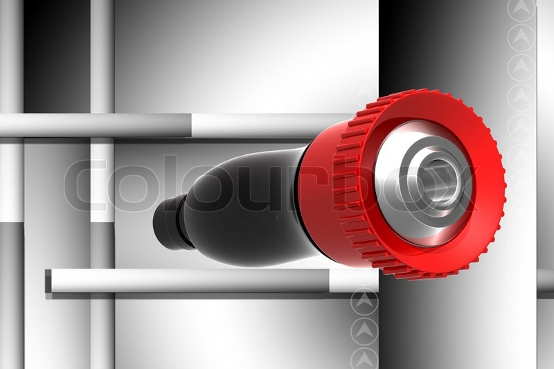 Stock image of 'Fighting nozzle'