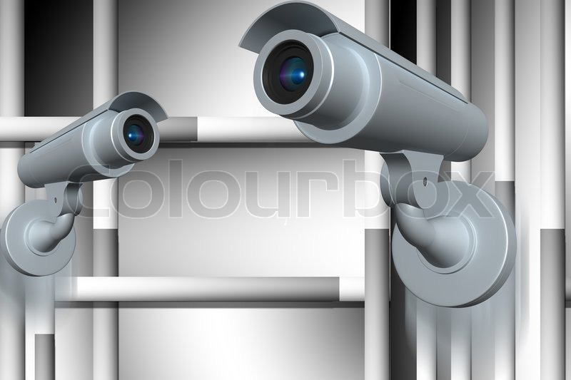 Stock image of 'Security camera'