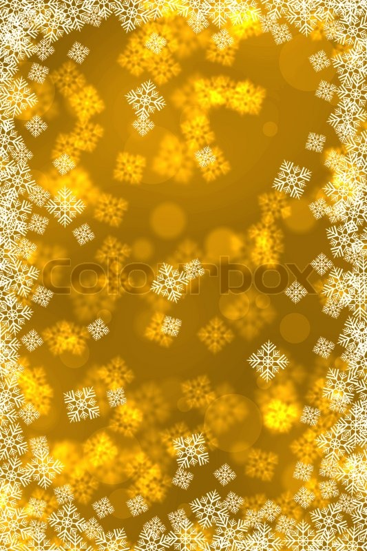 Stock image of 'Abstract Christmas background with snowflakes'