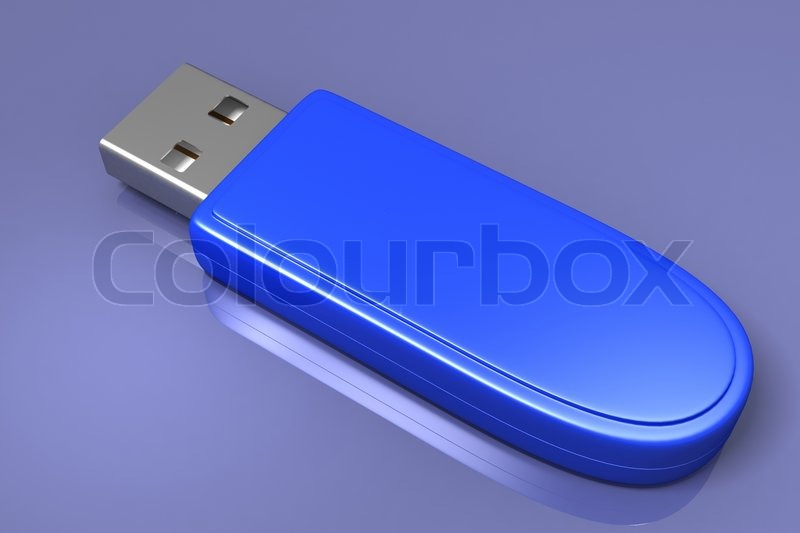 Stock image of 'USB Flash Drive'