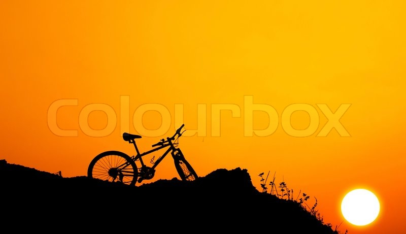 Stock image of 'Mountain bike'