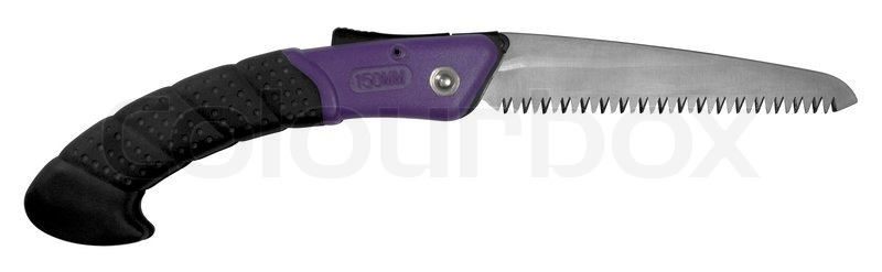 Stock image of 'Open pocket saw'