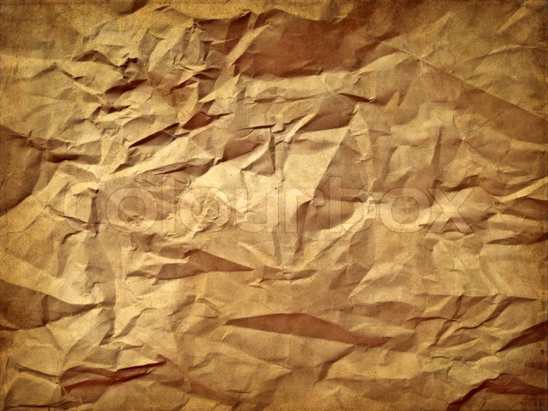 Stock image of 'Crumpled paper texture'