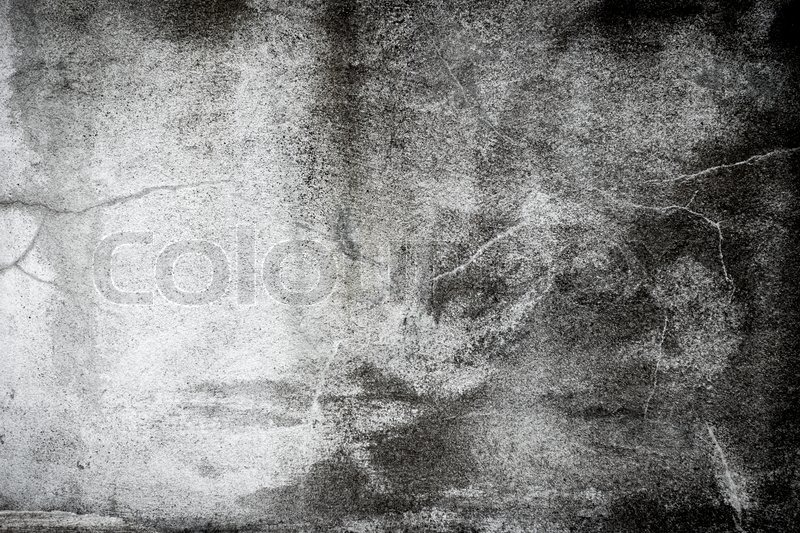 Stock image of 'Black and white grunge background wall dirty texture'