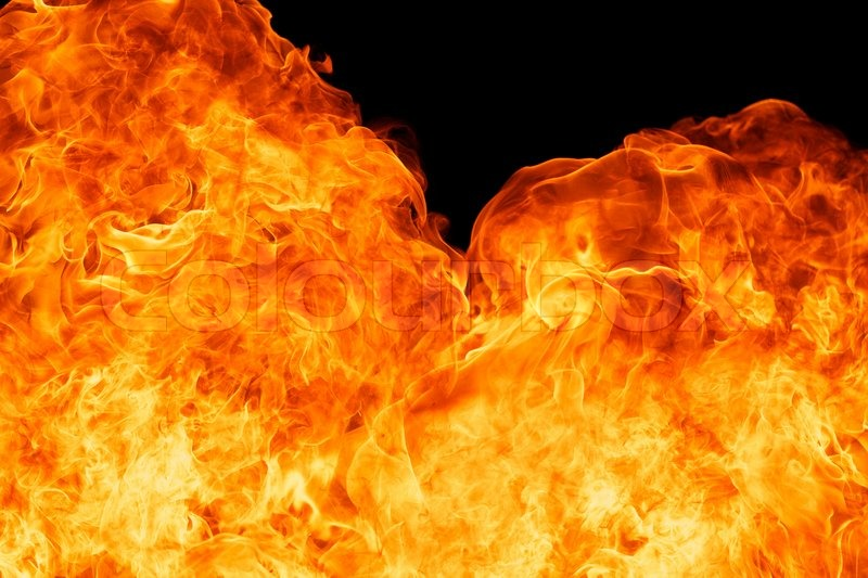 Stock image of 'Blaze fire flame background'