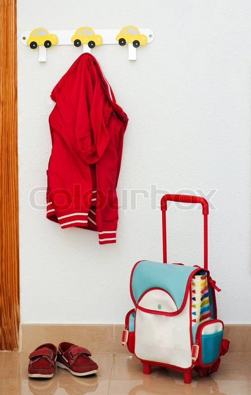 Stock image of 'Items for schoolboy'