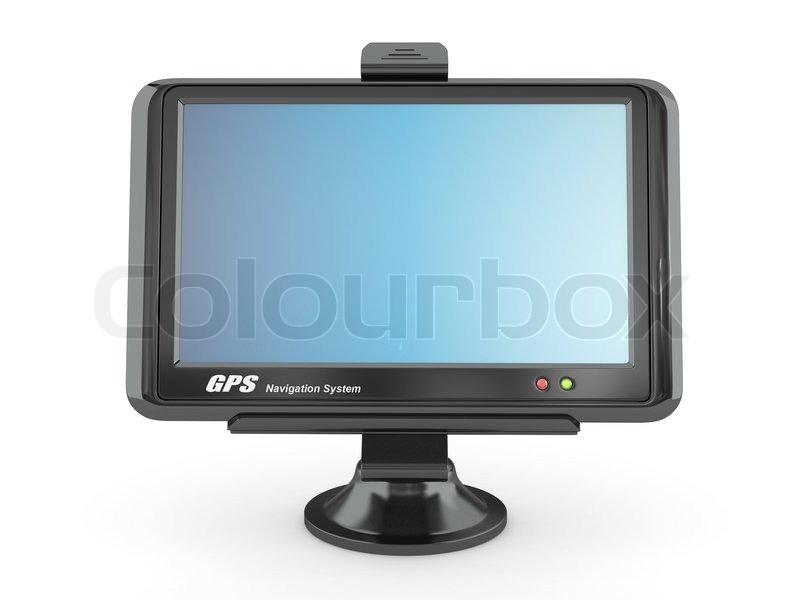 Stock image of 'Navigation system Gps 3d'