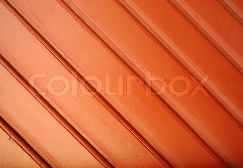 Stock image of 'Red wooden wall'