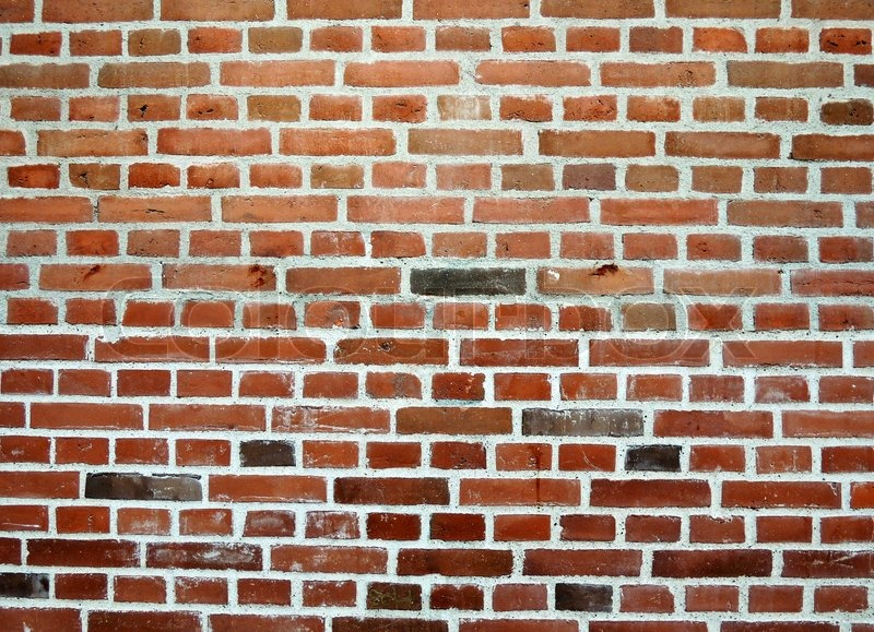 Stock image of 'Retro brick wall'