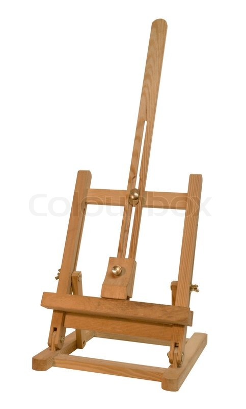 Stock image of 'Wooden easel'