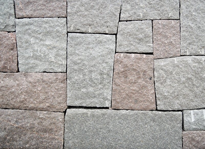 Stock image of 'Wall of big stone'