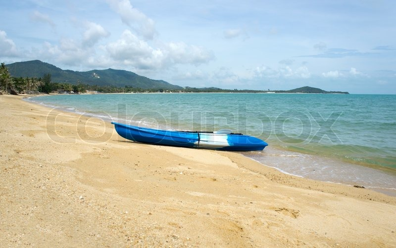 Stock image of 'Kayak'
