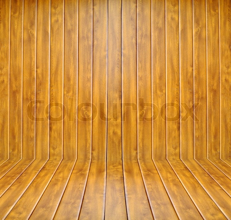 Stock image of 'Wooden room'