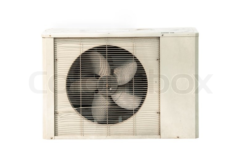 Stock image of 'Air conditioner isolated on white background'
