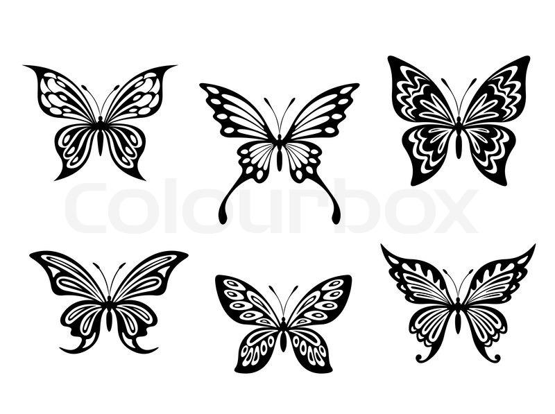 tatoveringer sommerfugle